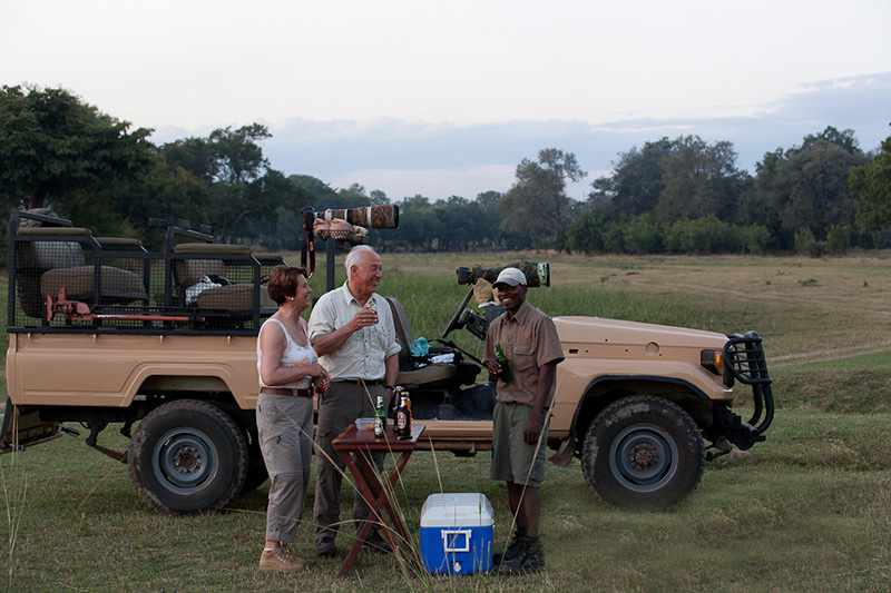 Safaris - Track and Trail River Camp